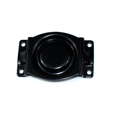 Custom made deep drawn automotive engine mount