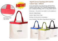 Ready Stock- New Canvas Tote Bag- CR323