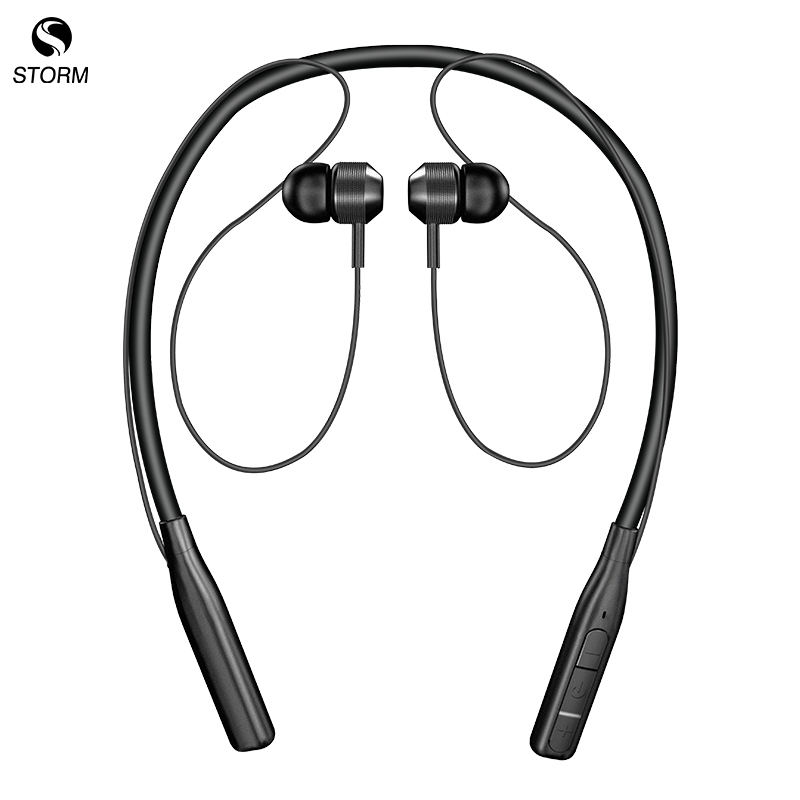 Neckband V5.0 wireless Stereo In-Ear earbud Headphones Sports mobile phone magnetic earphone headset