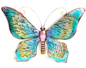 home metal art Wall Decorative Butterfly