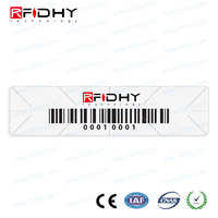 Asset Tracking RFID Wndshield Tags/Stickers/Labels Toll Collection