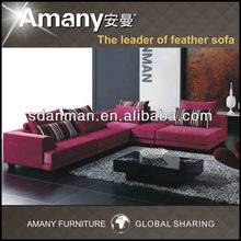 High quality beautiful design modern big sofa