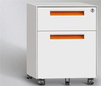 Modern Office Furniture Steel Storage Cabinet 2 Drawer Metal File