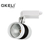 Okeli Brand 30W COB Commercial Track Lights For Clothes Store Adjustable Spotlight Lamp Surface Mount 2 years quality guarantee