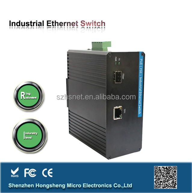 Made in china ready stock 20KM/40KM/80KM Gigabit managed industrial ethernet swith