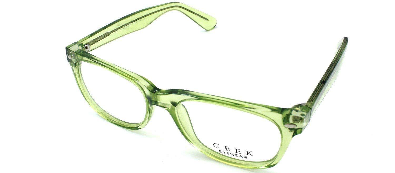 378dac5fb0f Get Quotations · Geek Eyewear Rad09 Glasses Green Crystal