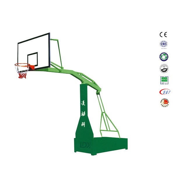 Multi colored basket hoop 2.25m extension used basketball hoops for sale
