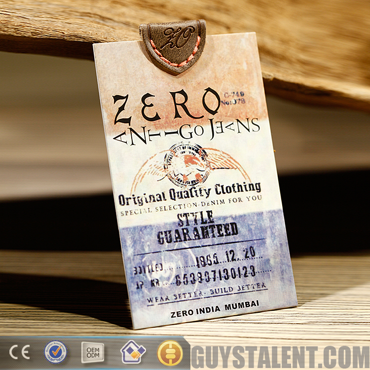 best quality promotional recycled paper hang tags for garment buy