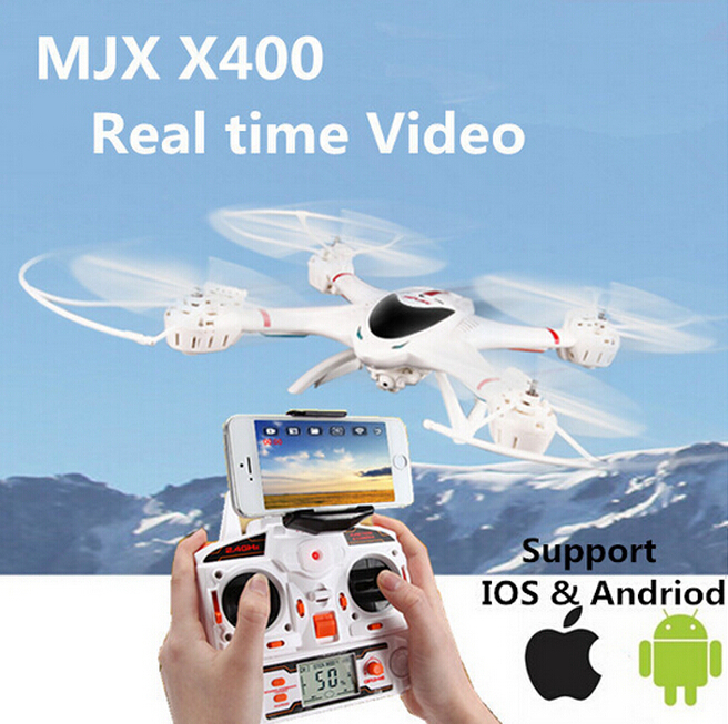 EMS MJX X400 X400-V2 2battery 2.4G RC Quadcopter Drone Rc Helicopter 6-axis Can