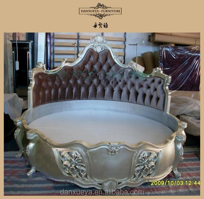 New Style Leather Round bed