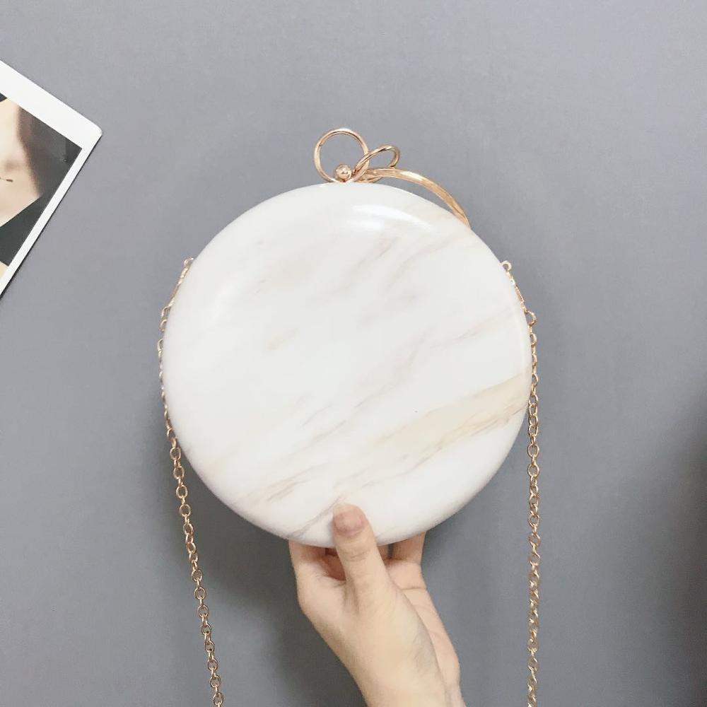 lady full moon shape diamante PU <strong>leather</strong> bag <strong>clutch</strong>