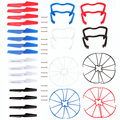 Free Shipping 4 sets Syma X5 X5cQuadcopter Propellers Landing Skid Protectors Spars K5BO