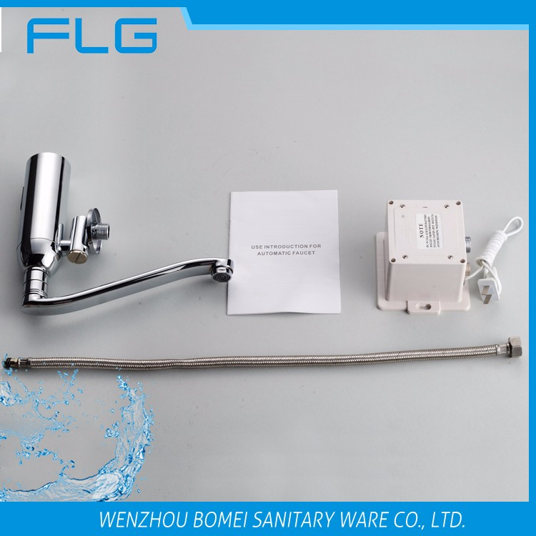 Best selling chrome finishing sensor urinal flusher