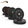 Gym Cross Fitness Professional PU Barbell Bumper Weight Plate