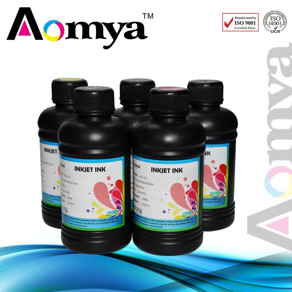 4x250ml, 4 Colors of UV Ink/UV LED Ink/UV Printing Ink For
