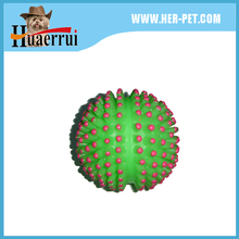 Customized Pet Squeaky Ball Rubber Dog Toys, Dog Treat Ball