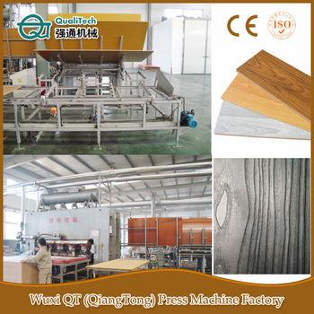 Parquet Fabrication Flooring Manufacturing Line Wood