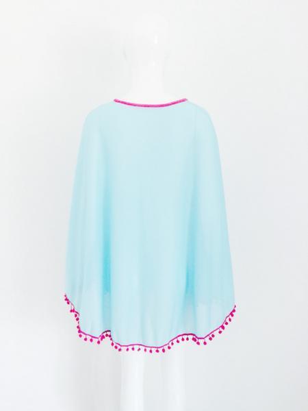 2014-бич прикрыть бикини купальники сексуальные шифон кисточки кимоно кардиган блузка крючком пляж платья