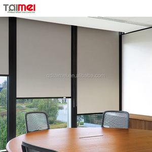Fiberglass PVC Coated Sunscreen Roller Blind Fabric Series