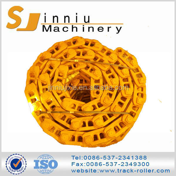 2015 newest hot selling yellow or black excavator undercarriage part track link