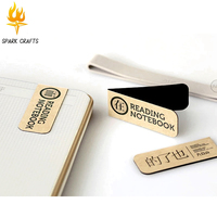 Customized printing fashion folding flexible magnetic bookmark