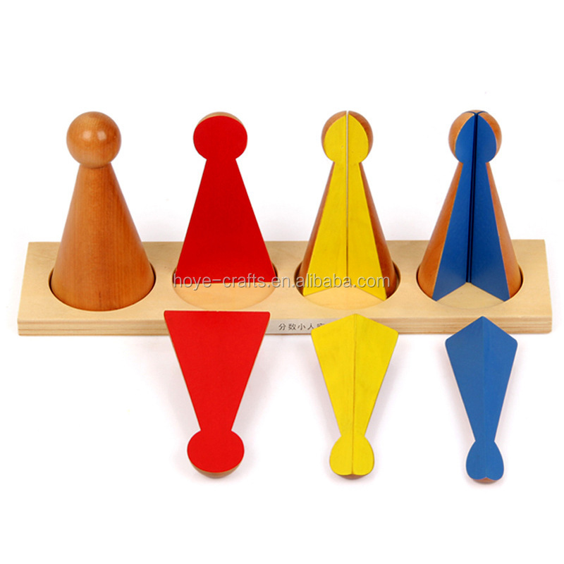 Teaching Tool Wooden Montessori Math Toys Wooden Counting Toys