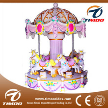 Happy Carnival Amusement Rides 6 Seats Kids Mini Palace Carousel Ride For Sale