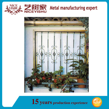 2016 India Style Modern Steel Garden Window Grill Designs / Alibaba Latest  Decorative Interior Aluminum Window
