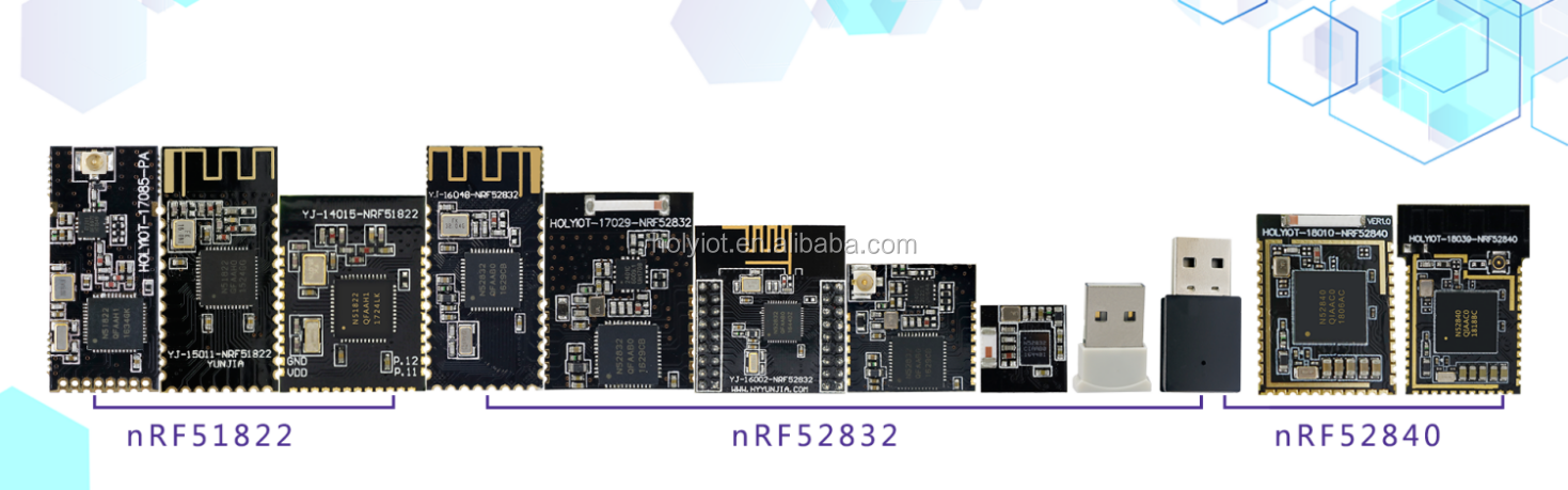 USB dongle Nordic nRF52840 chipset and USB interface bluetooth 500 meters  transmission range, View nRF52840, Holyiot Product Details from Shenzhen