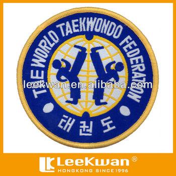 Taekwondo Embroidery Patch,Badge,Applique