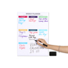 Fridge Magnets Magnetic Calendar Removable Weekly Planner Dry Erase Drawing Monthly Planner Board Fridge Schedule Magnet Sticker