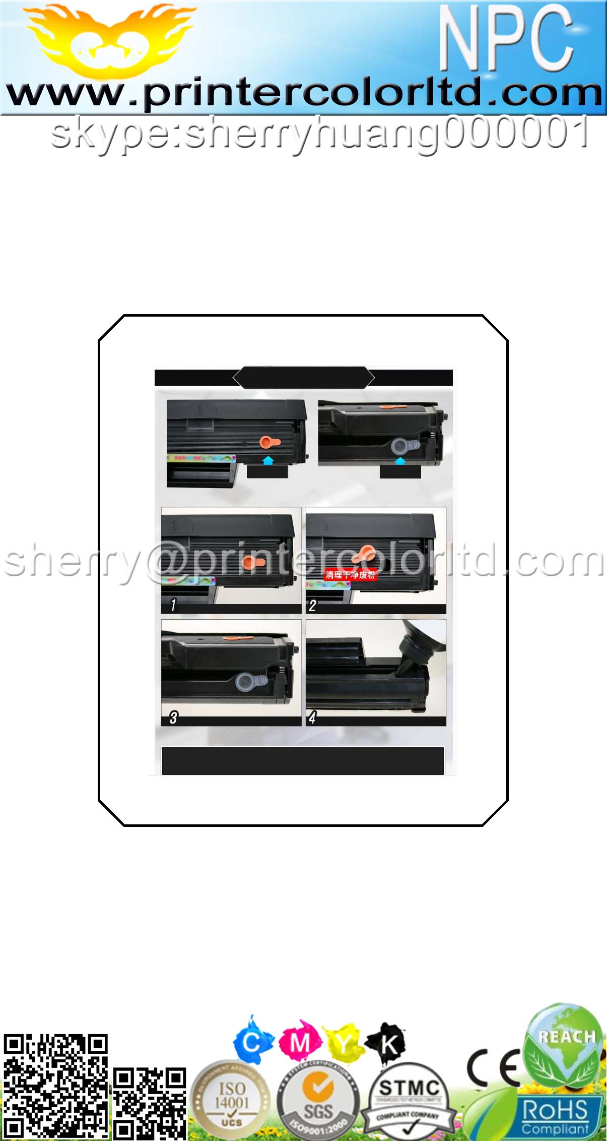 Compatible 101 Toner, for SCX-3401, MLT-D101S Toner Cartridge for Samsung ML-2161/ML-2166W, SCX-3405