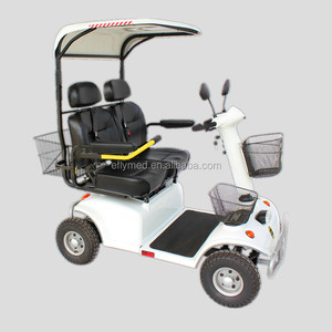 Two Seats outdoor touring electric mobility scooter DB21 for sale to USA