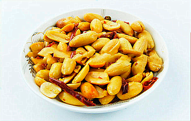 Wholesale spicy fried and salted peanut