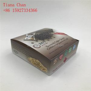 Foldable Paper Energy Bars Cardboard Counter Display Box drink packaging box Custom printing Energy Bars paper display box