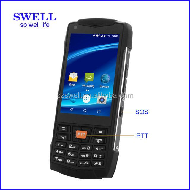 IP68 NFC 3.5inch 2+8MP/3+32GB 4000Mah ptt ip67 rugged phone feature 3.5inch 6 sim card mobile phone