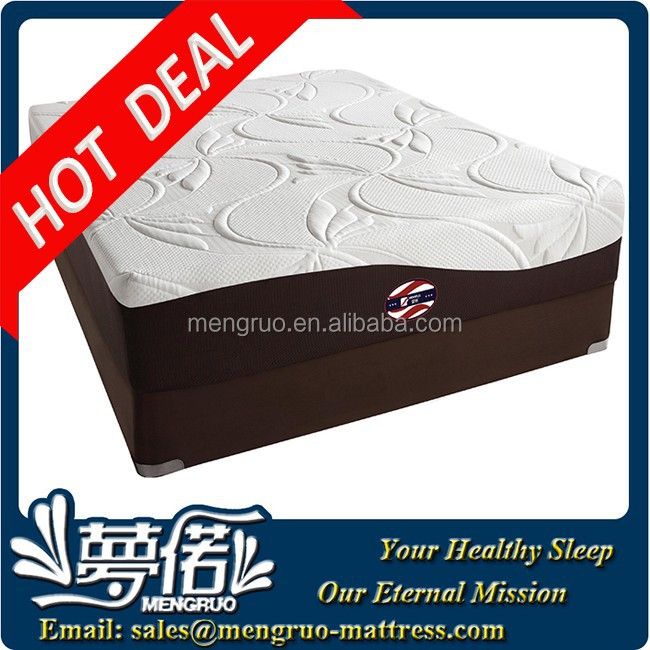 sleepwell bedroom king size visco foam gel mattress