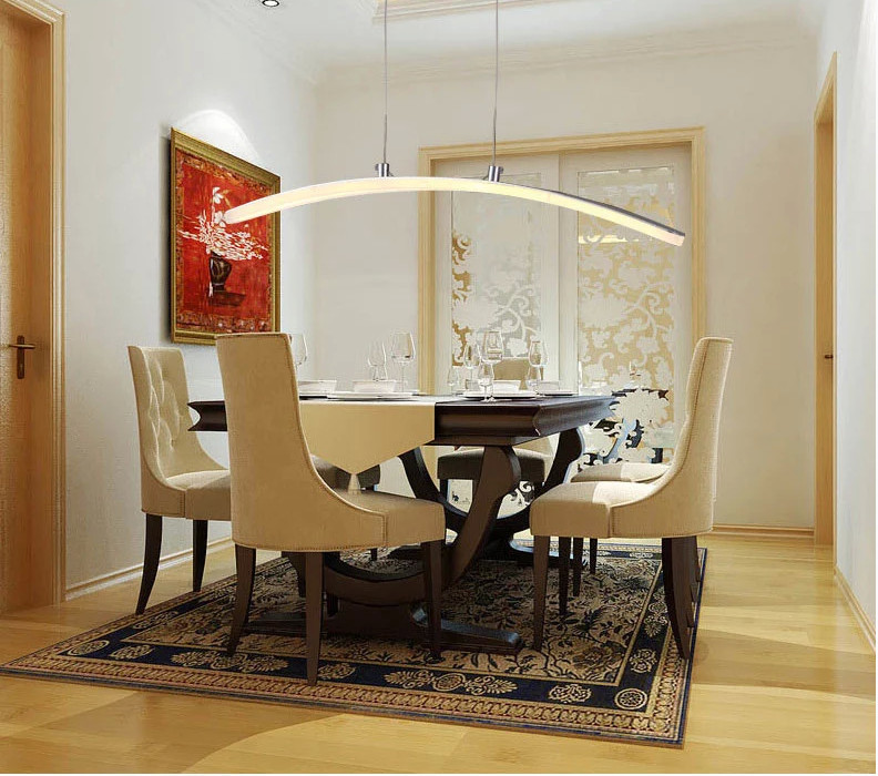 Chandeliers For Dining Room Contemporary: 2015 New Led Chandelier For Dining Room Modern,adjustable