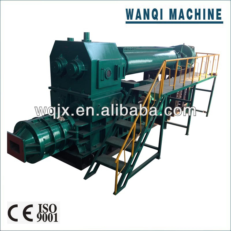 Fully automatic vacuum clay brick making machine, provide kiln construction technology,engineers available overseas