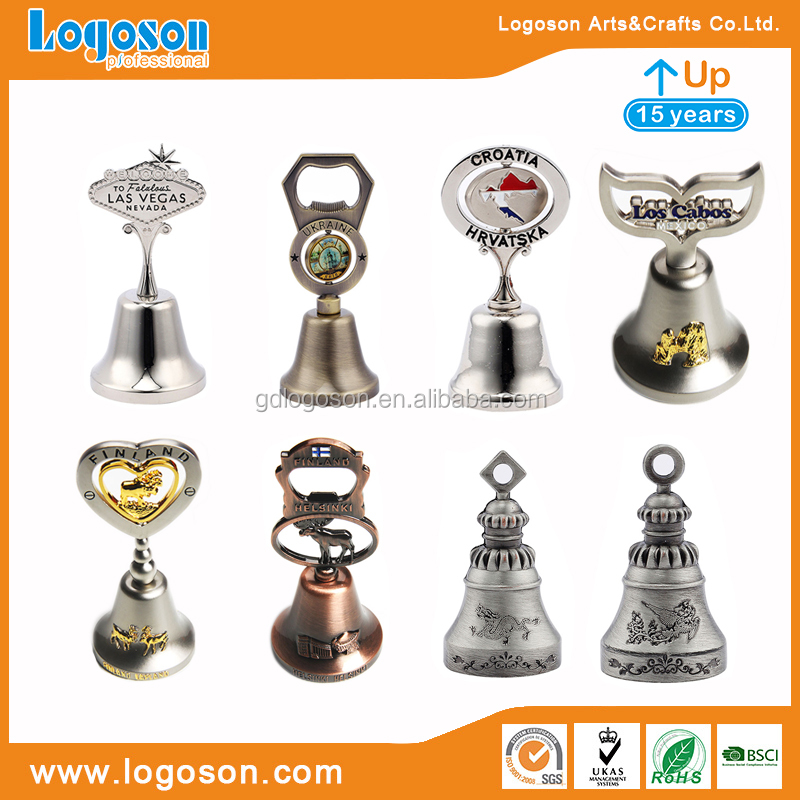 Factory Direct Price Antique Brass Table Bells Custom Metal Novelty Bells