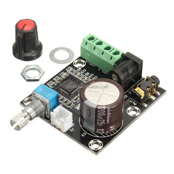 Pam8610 Mini Class D Digital Power Audio Amplifier Board 2x15w Xh-m120 12v  - Buy Audio Amplifier Board,Pam8610,Class D Amplifier Product on