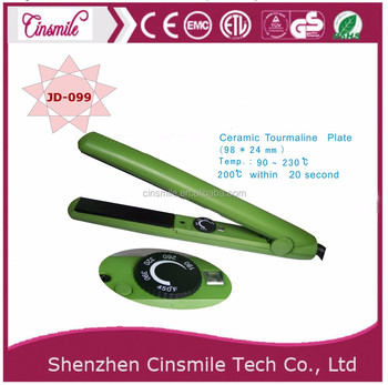 long life global beauty3 in 1 hair straightener and curling iron by Cinsmile JD-099