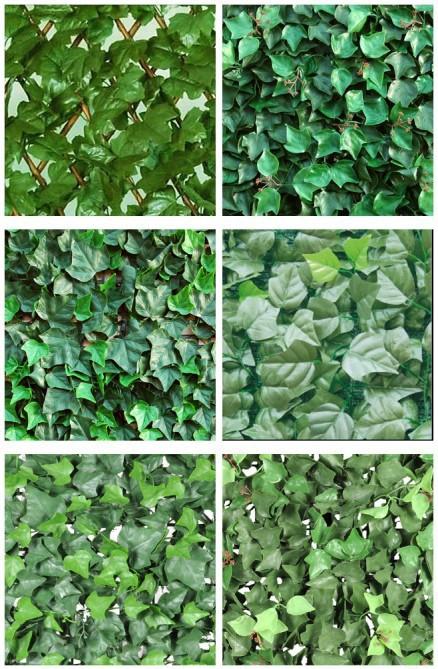 Celos as de madera con arbustos artificiales decorativos for Arbustos decorativos para jardin