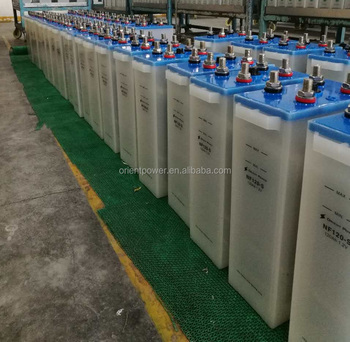 600Ah nickel 600Ah solar nickel ion battery Battery standard 20 years Life 11000 cycle Nickel Iron Battery for sale