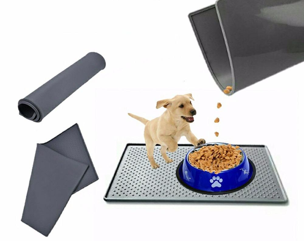 viragear paw com shape product feeding mat image dog products cat mats