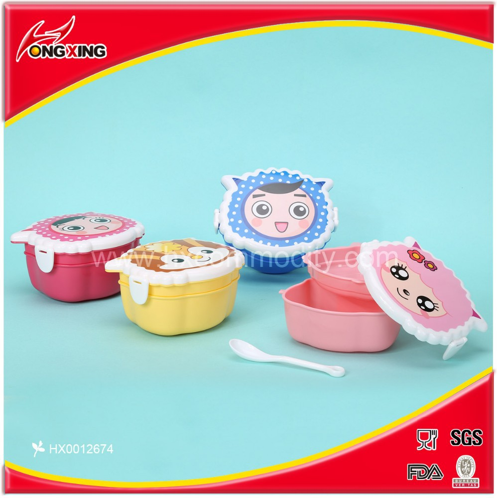 Hot selling brand new PP kids lunch box