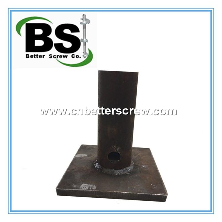 Helical Screw Pile Top Steel Cap Buy Steel Cap Helical