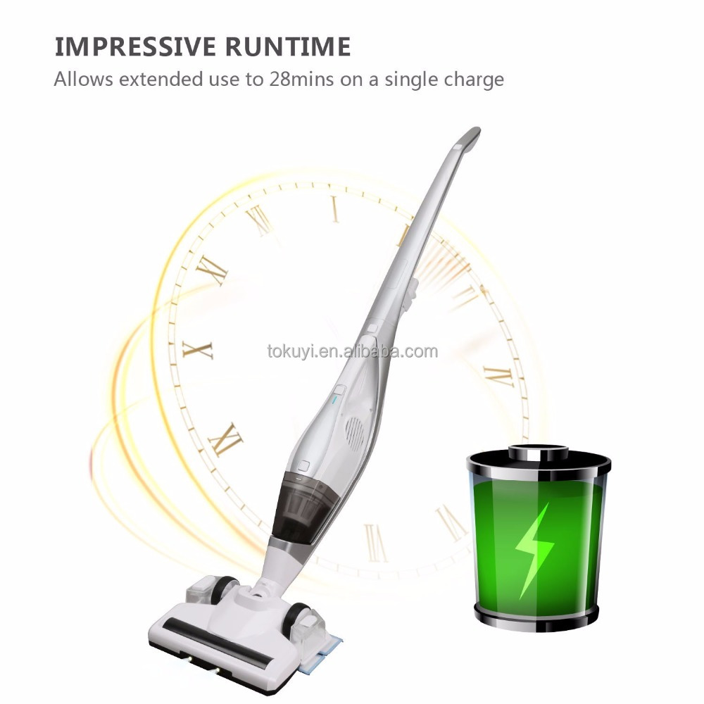 2018 new 3 in 1 stick vacuum cleaner with hand vacuum and wet mopping, Li-ion rechargeable battery