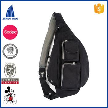Sling Backpack By Meru Cross Body Bag With Memory Foam Strap