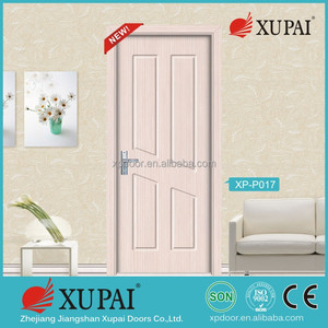 Villa oka wooden door garage double door/ Nice look wooden doors/ Latest Xupai door design for wholesale